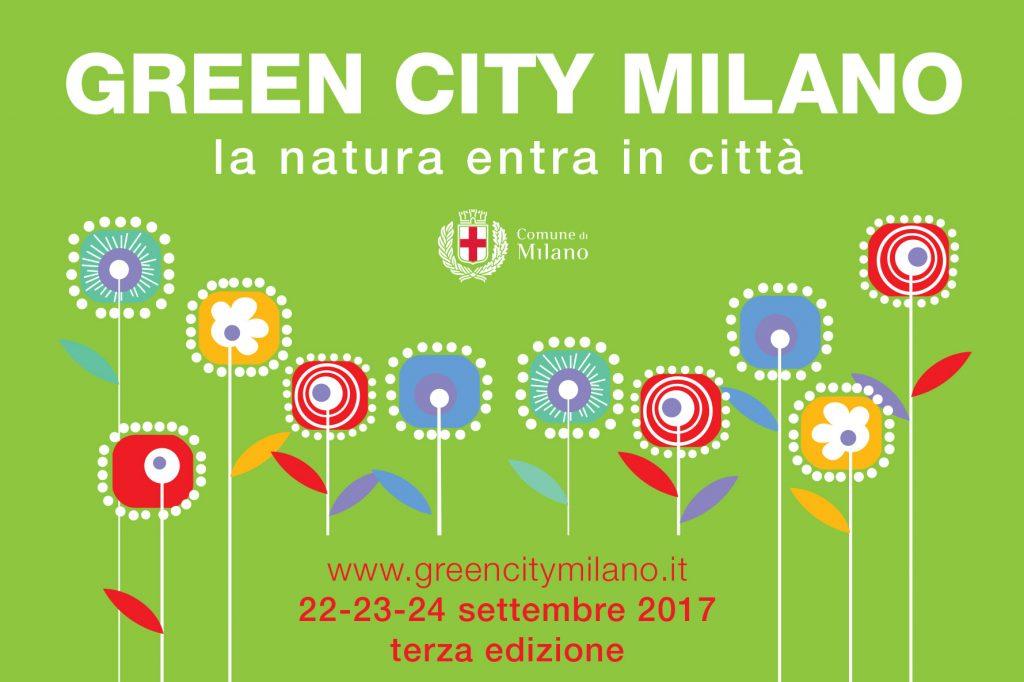 La locandina che annuncia l'edizione 2017 di Green City Milano.