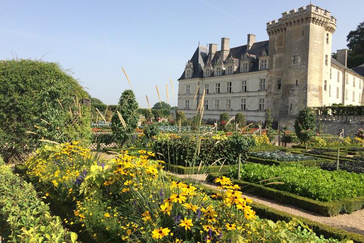 Il meraviglioso Orto Giardino di Villandry.