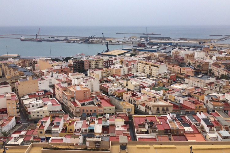 Veduta di Almeria.