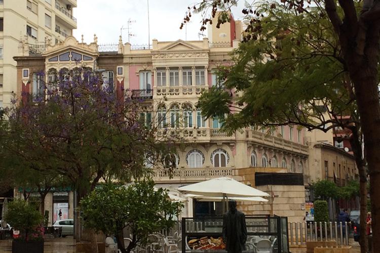 Uno scorcio della città di Almería.
