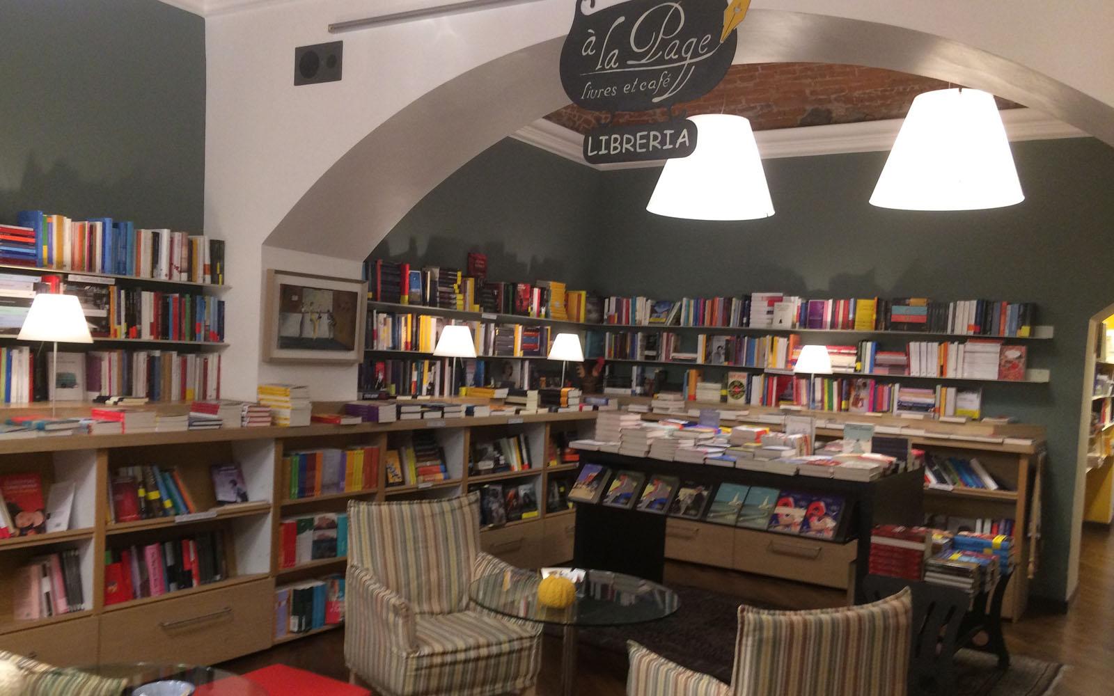 La libreria à la page di Aosta.