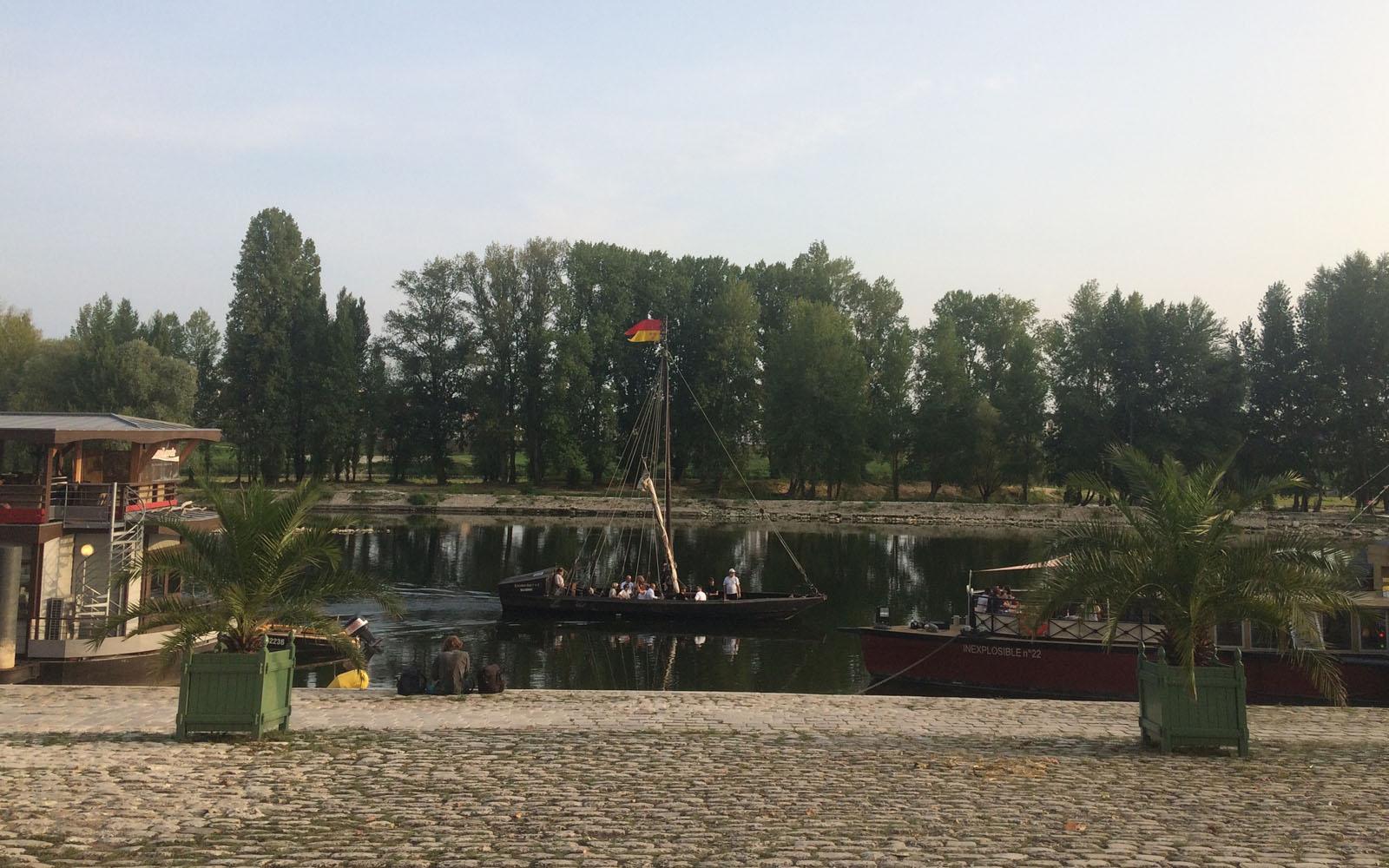 Il lungofiume di Orléans