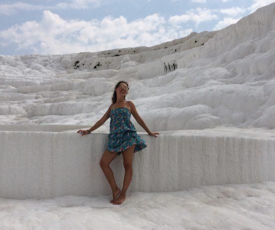 Nel sito naturale di Pamukkale