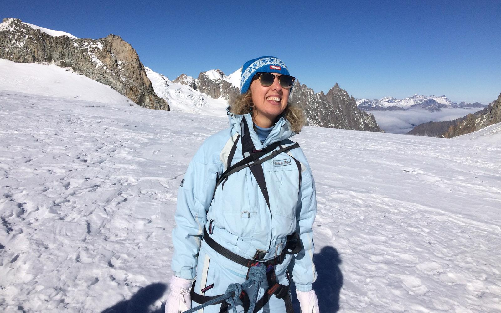 Sui ramponi Monte Bianco Il ghiacciaio del Monte Bianco