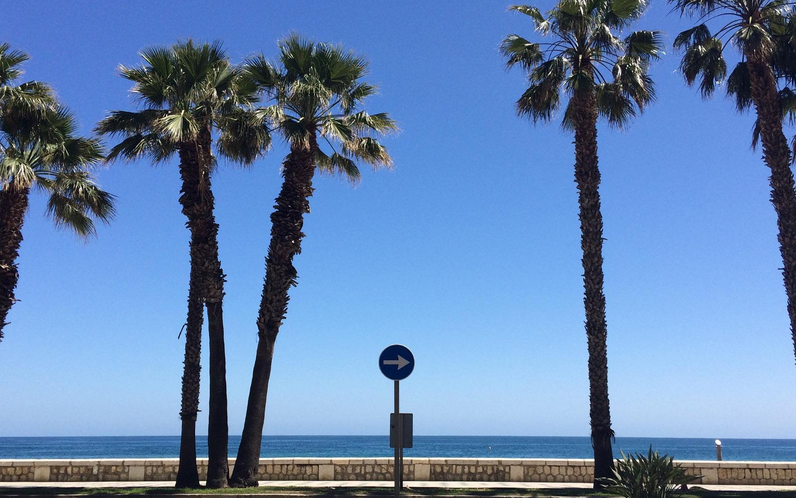 Il quartiere della Malagueta, dove si trovano le spiagge.