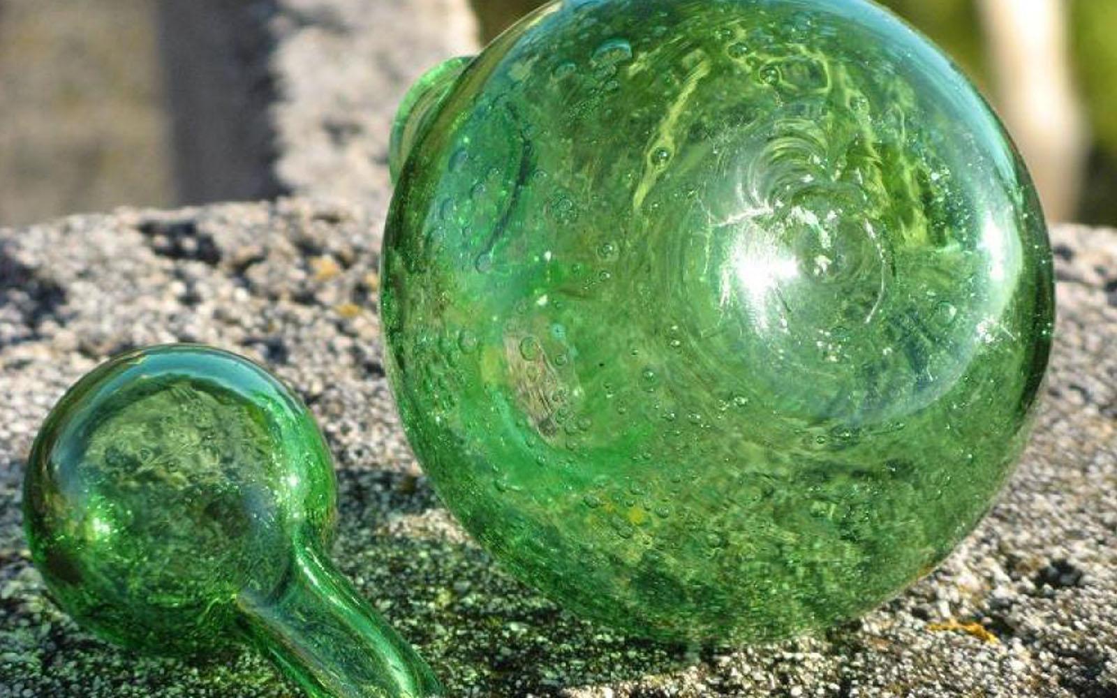 Il vetro soffiato, eccellenza di Biot.