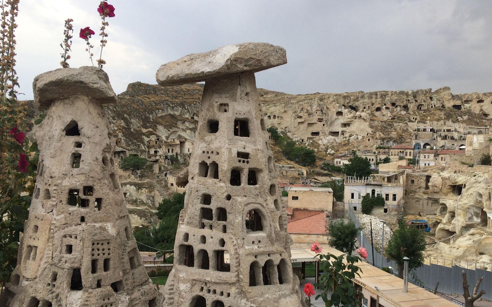 La città di Ürgüp in Cappadocia.