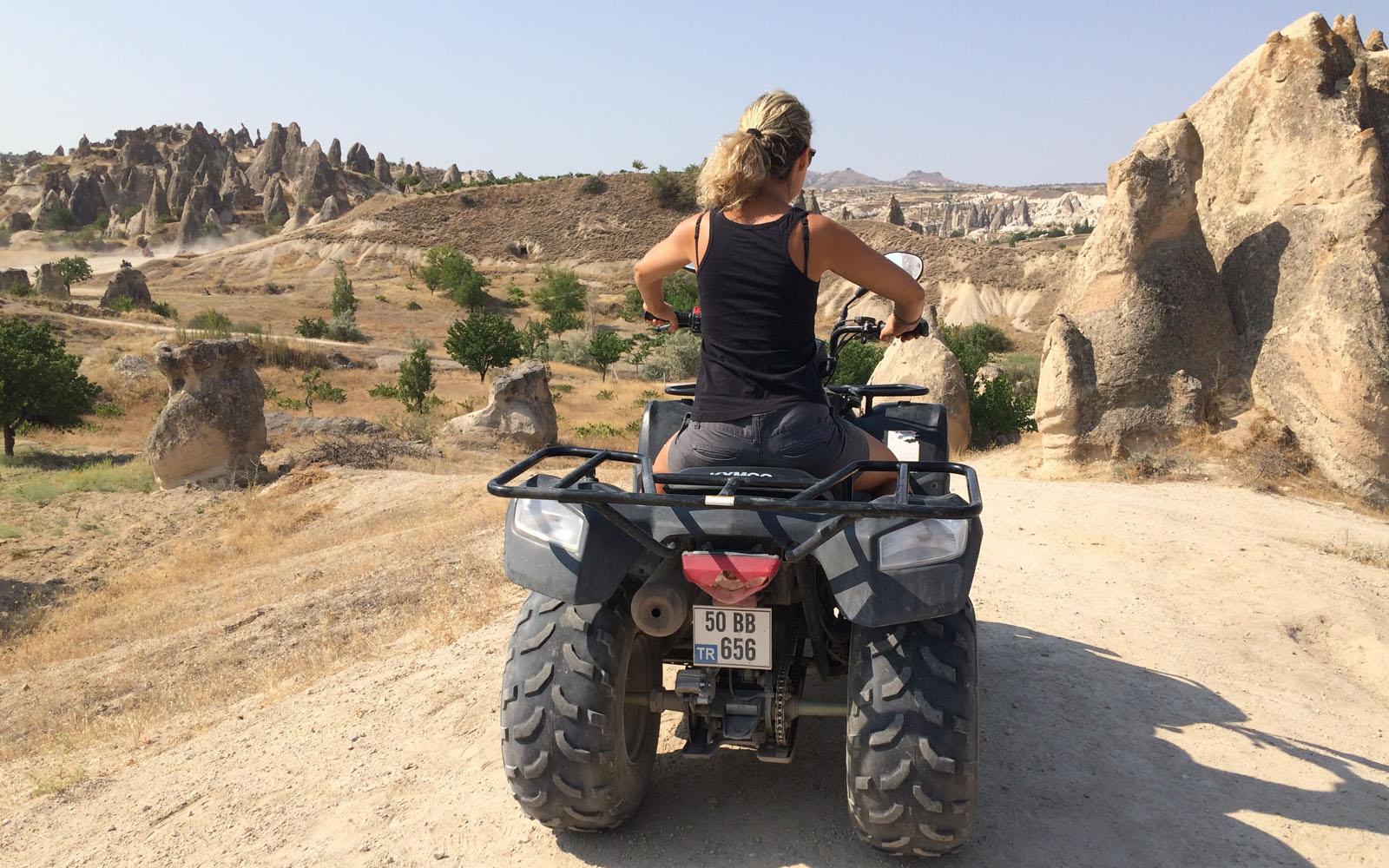 La mia escursione in Cappadocia con il quad.