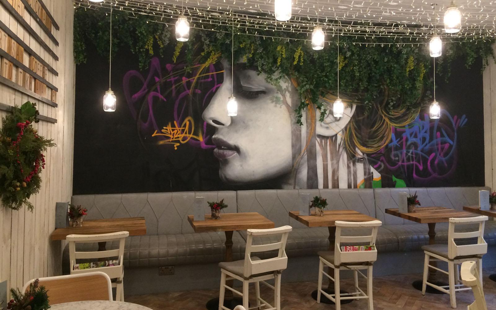 Il ristorante The Gardener, ad Ashton Lane.