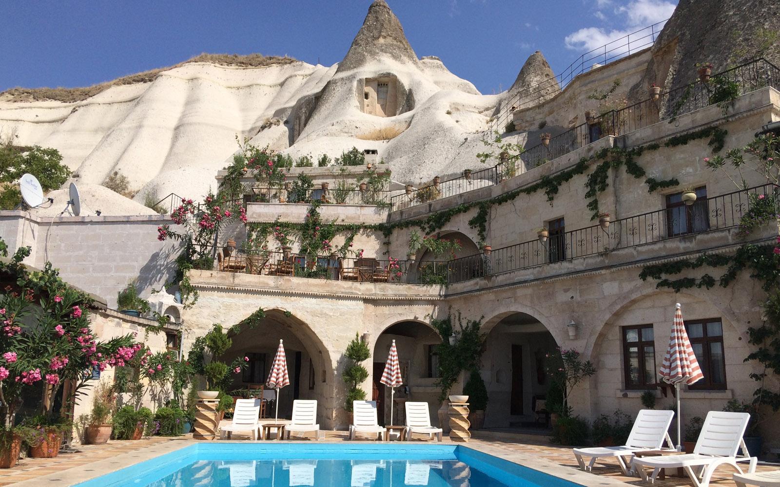 L'originale albergo dove ho dormito a Göreme, il Local Cave House Hotel