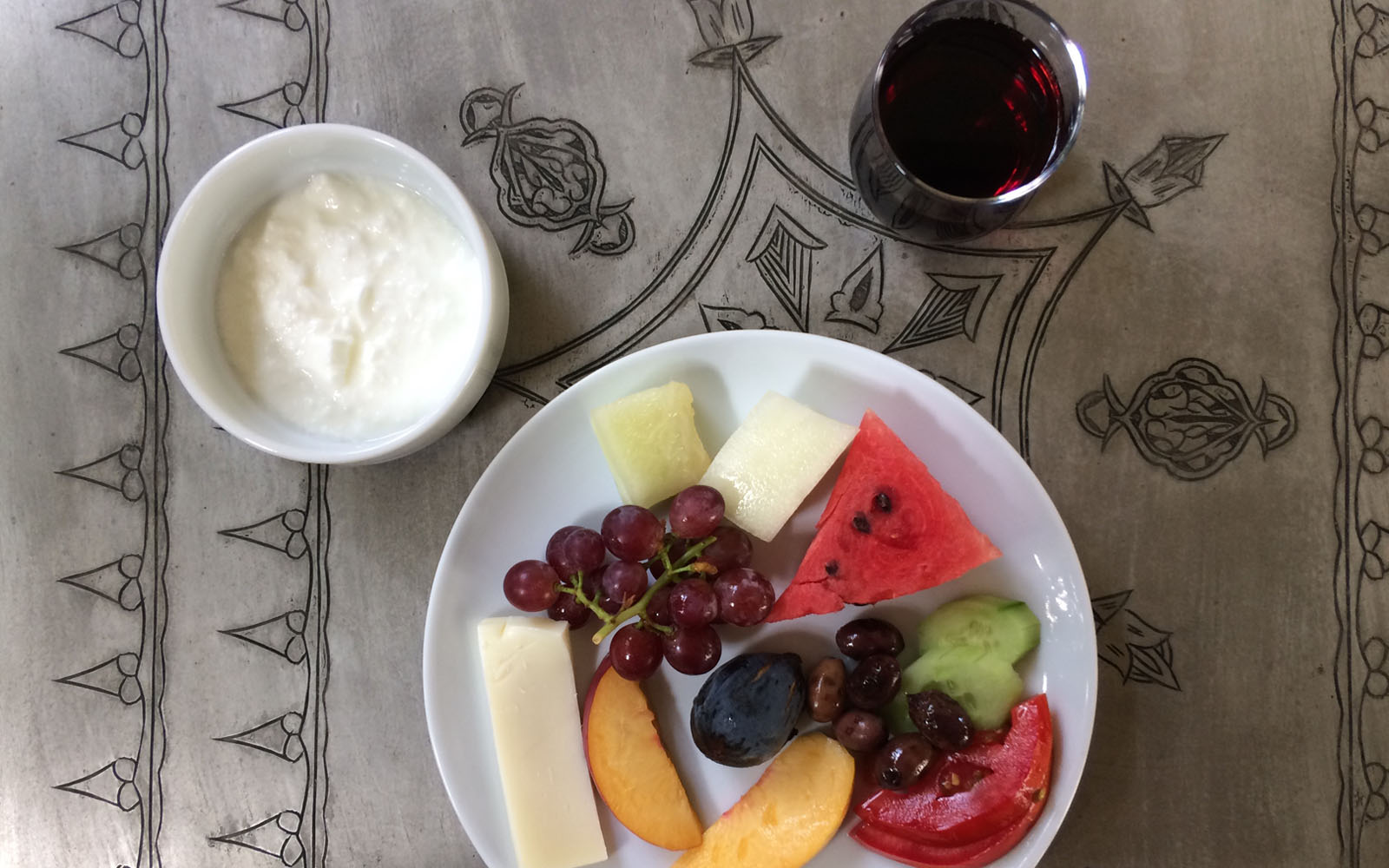 La mia colazione al Dardanos Hotel, Patara.