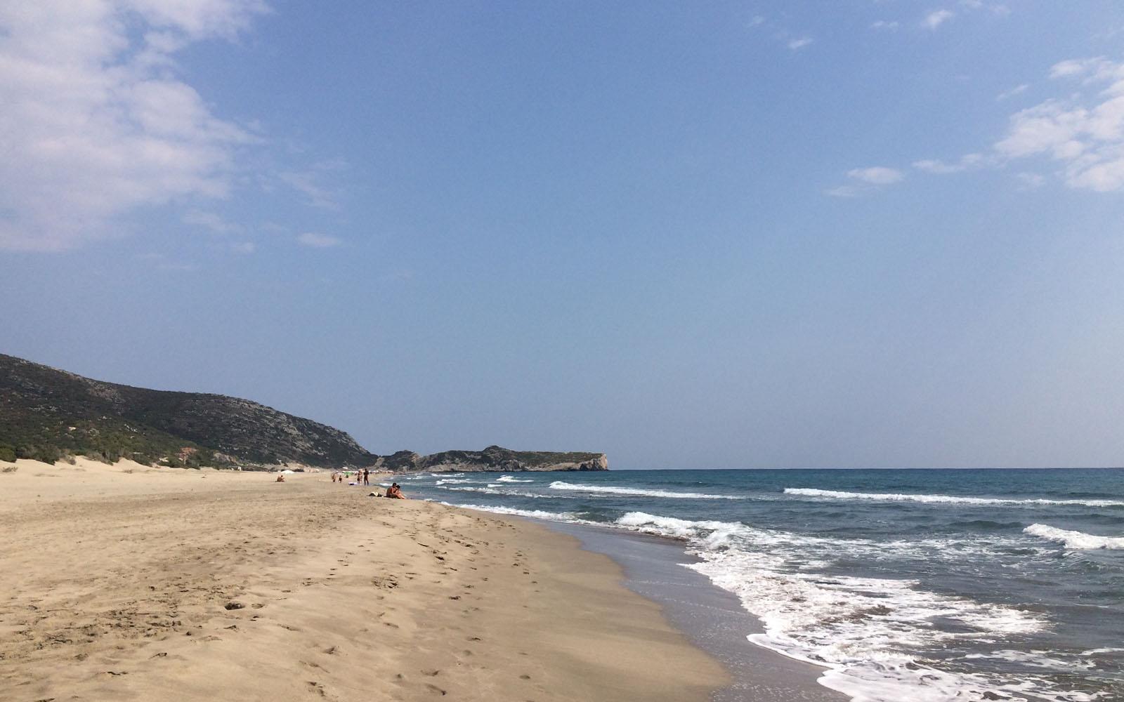 L'affascinante spiaggia di Patara, in Turchia.