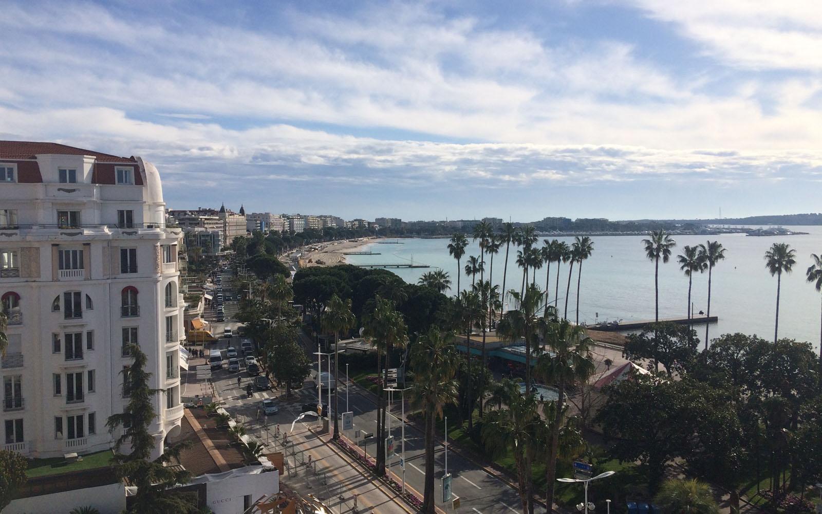 La blasonata Croisette di Cannes.