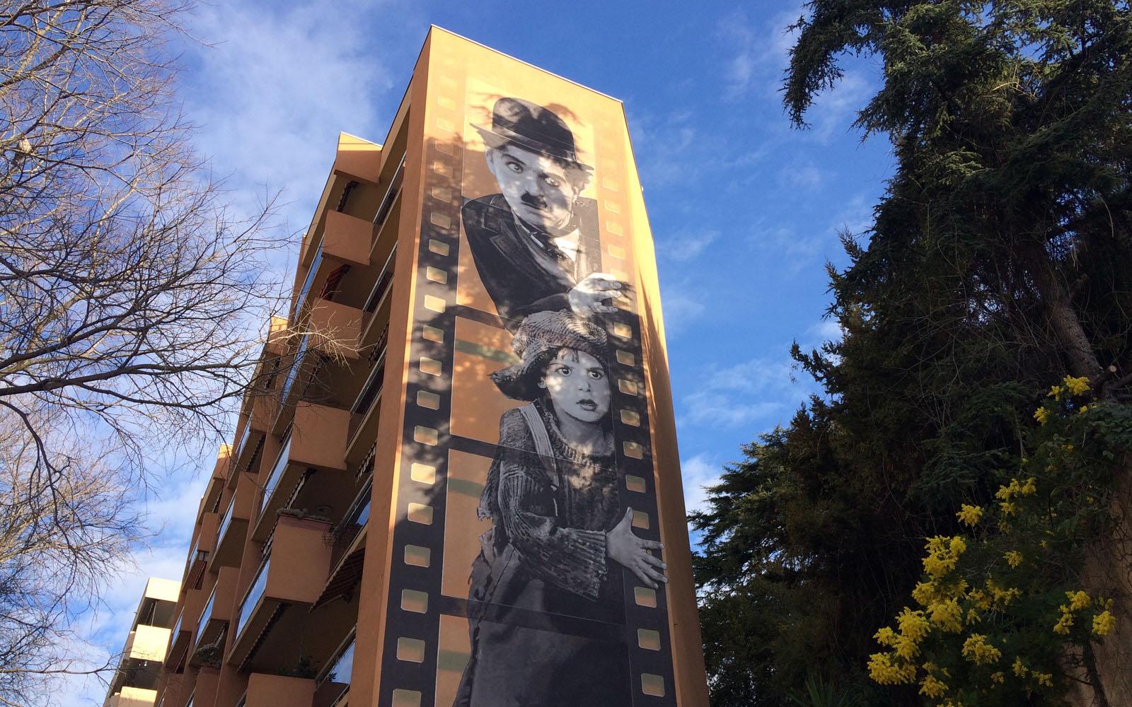 Cannes itinerario tra i murales sul cinema oltreilbalcone for Ristorante murales milano