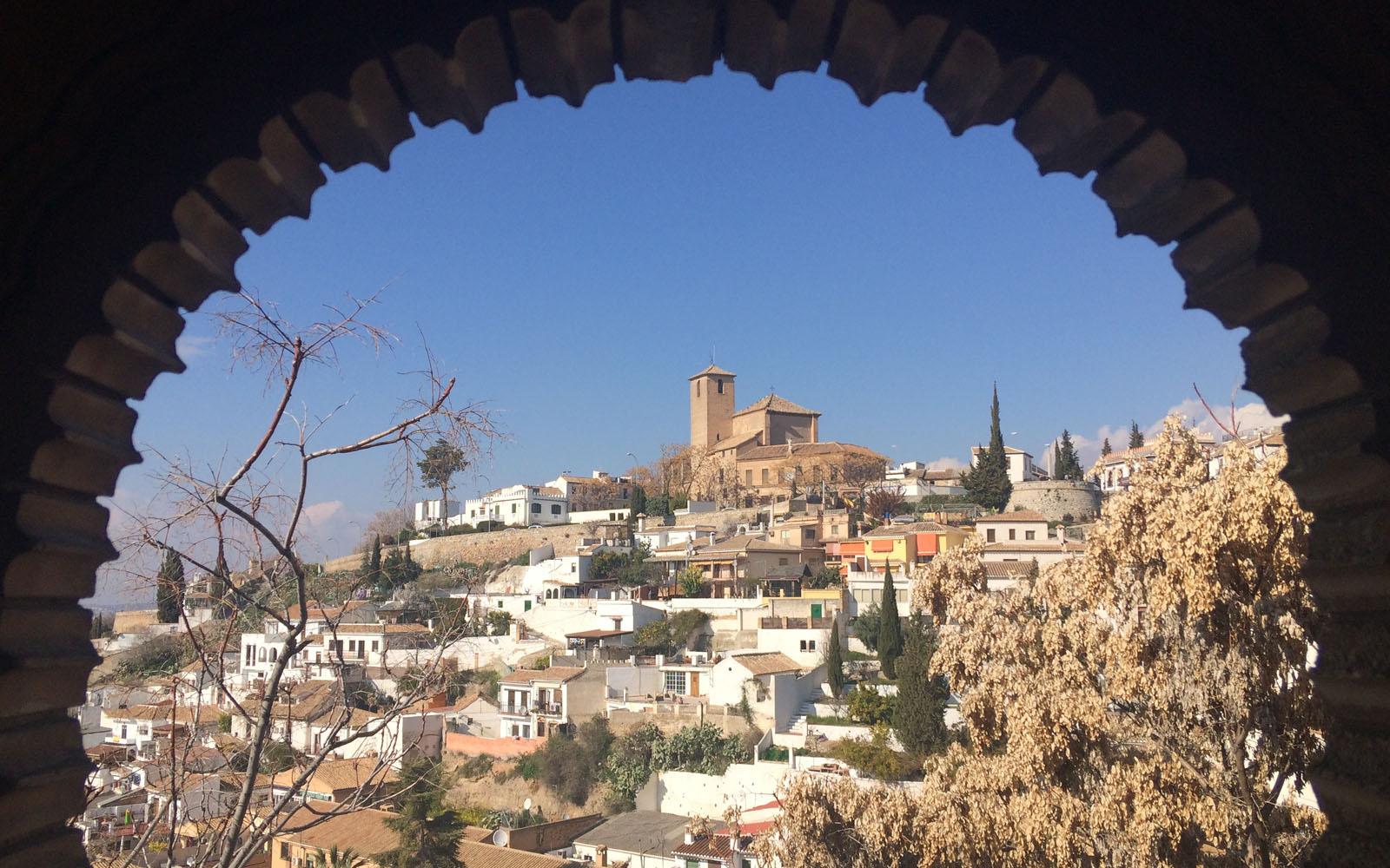 Veduta di Granada dal Palacio de Dar al-Hora.