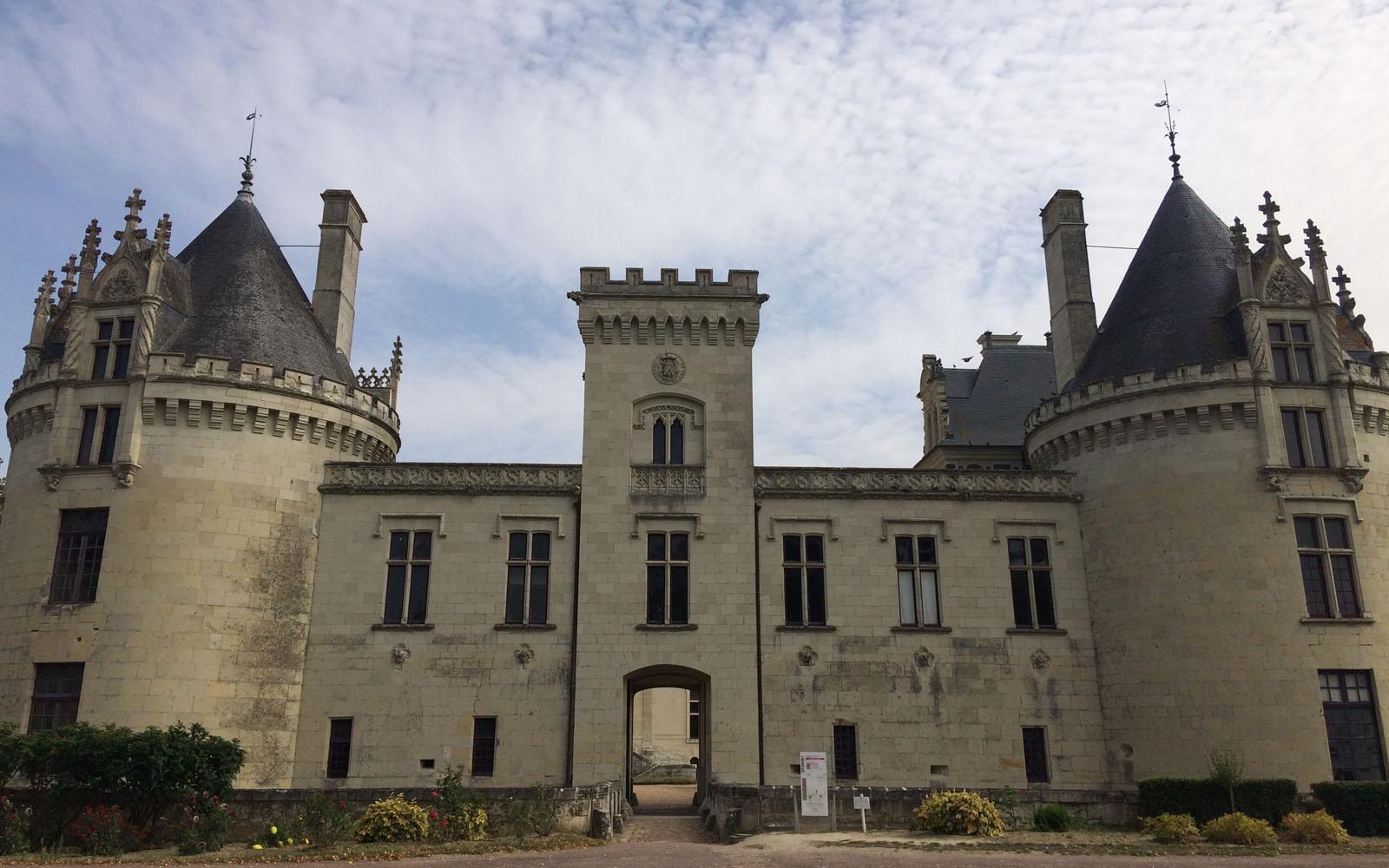 Il castello di Brézé, ad appena 10 minuti da Saumur.