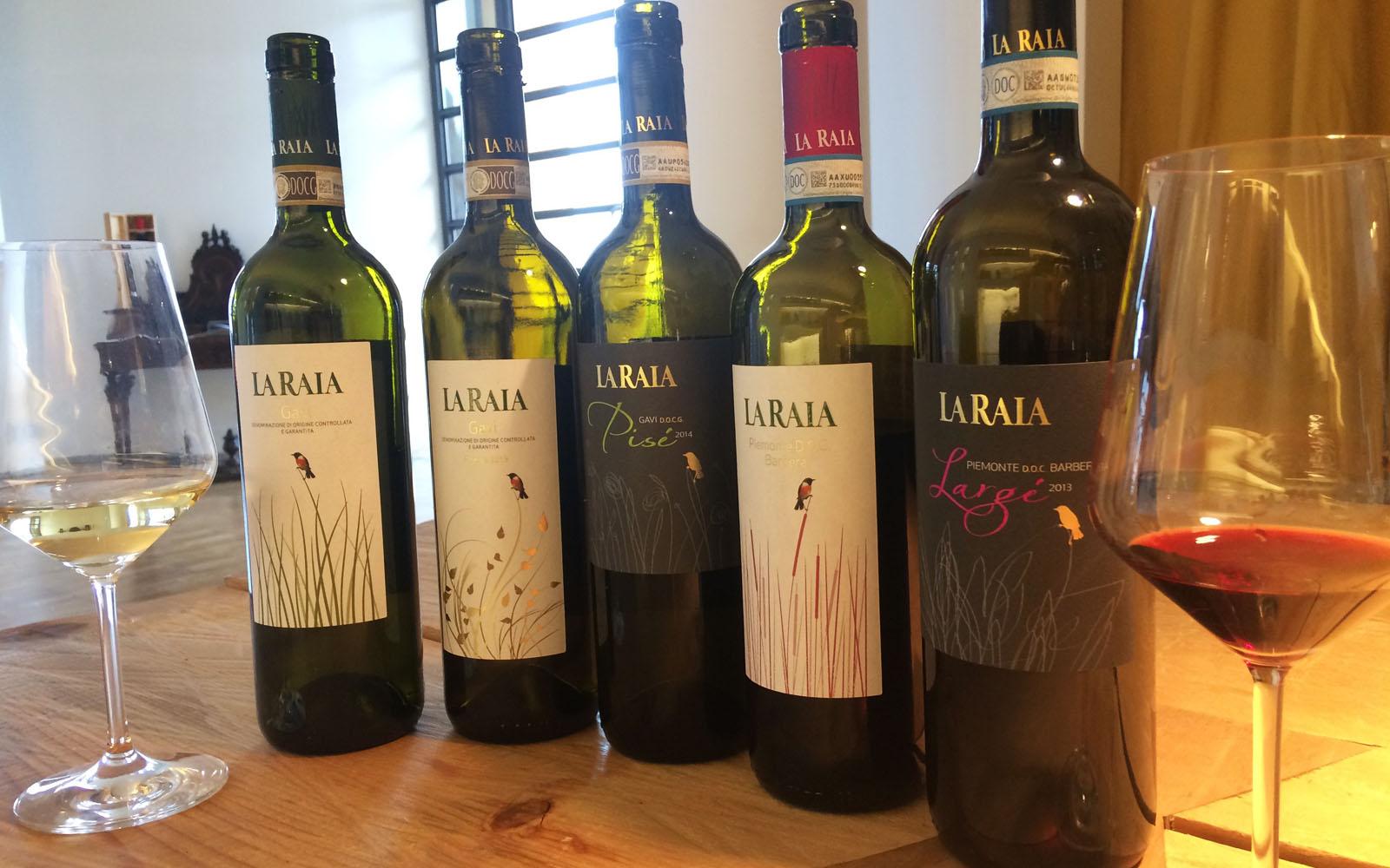 La mia degustazione di vini biodinamici a La Raia.
