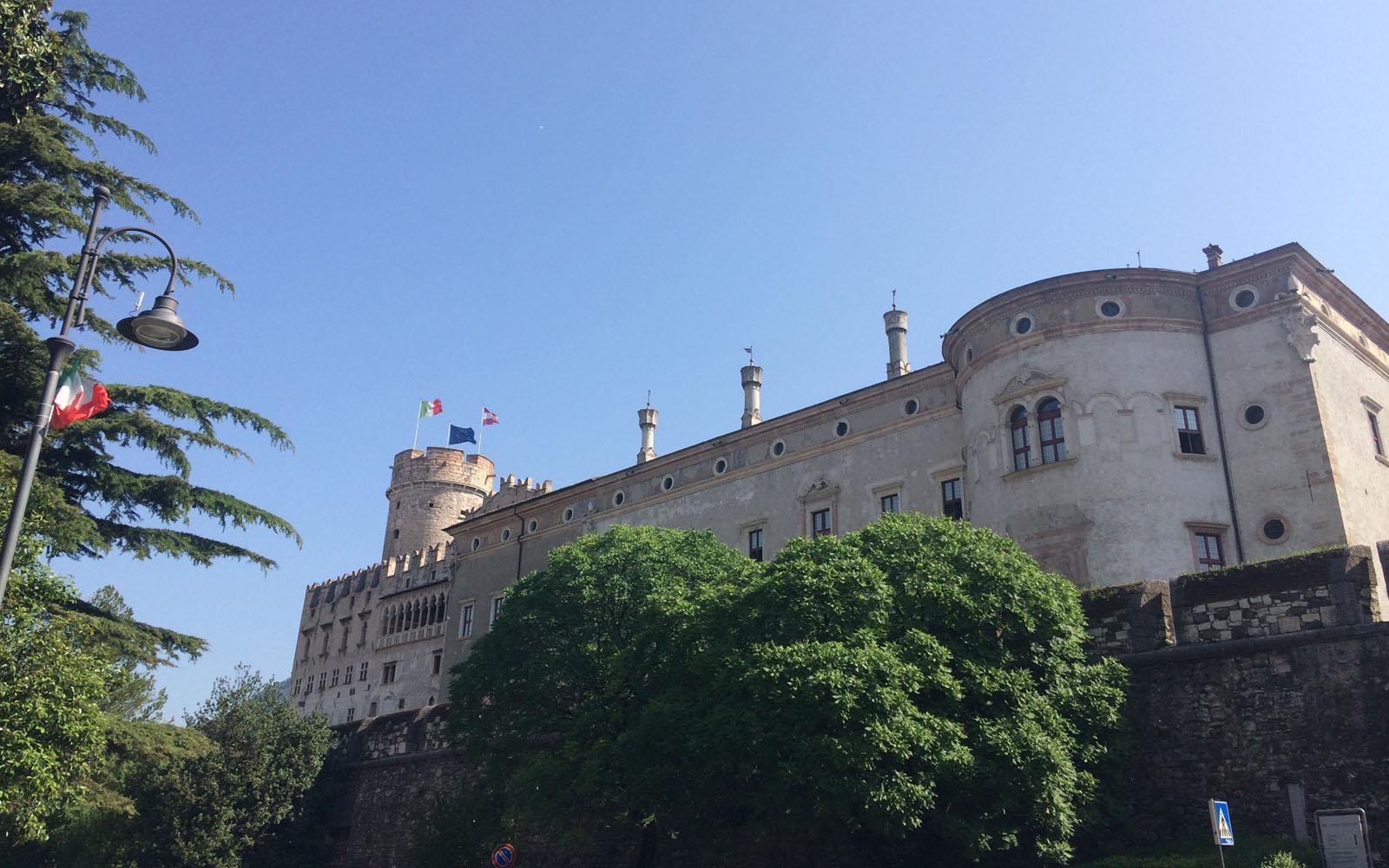Il Castello del Buonconsiglio di Trento.