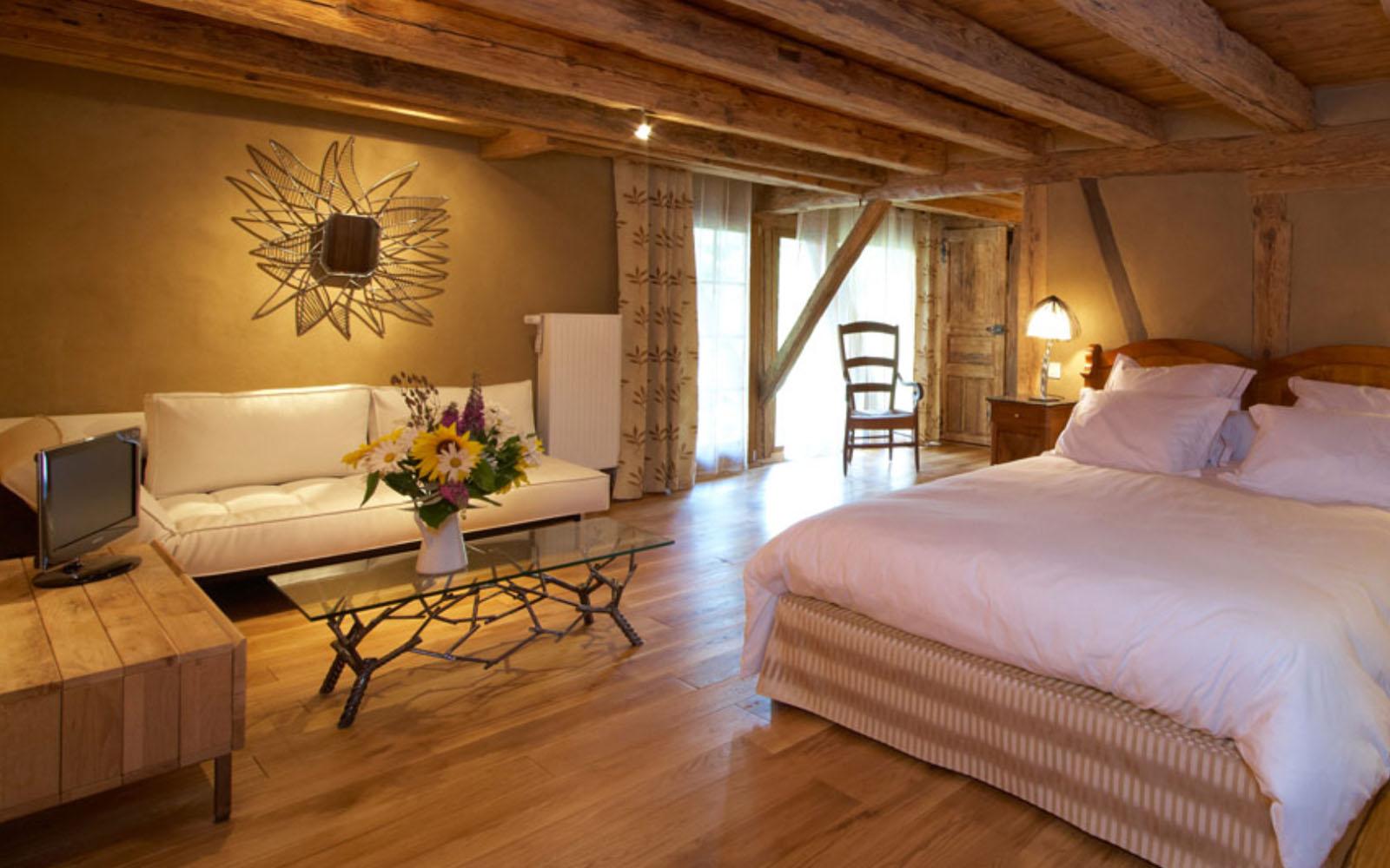 La camera della chambre d'hôtes Georges Braque.