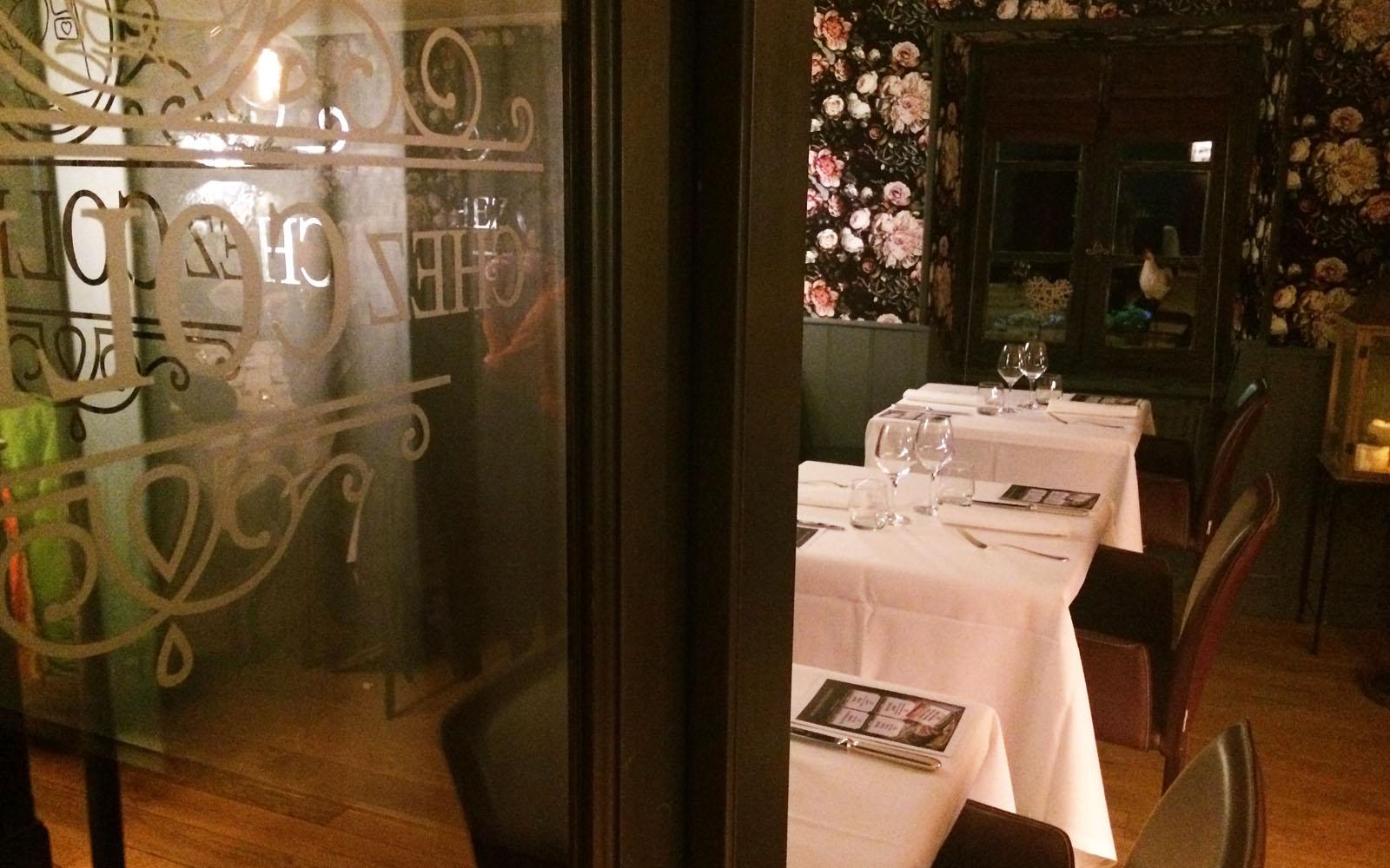 Il ristorante Chez Colette, a pochi chilometri da Mulhouse.
