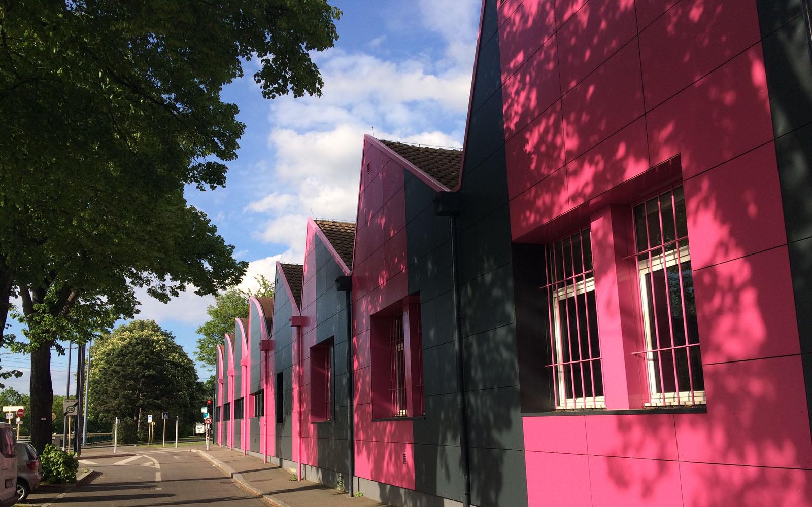 La Haute École des Arts du Rhin di Mulhouse.