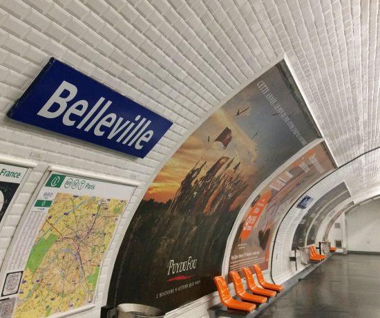 Belleville metropolitana © oltreilbalcone