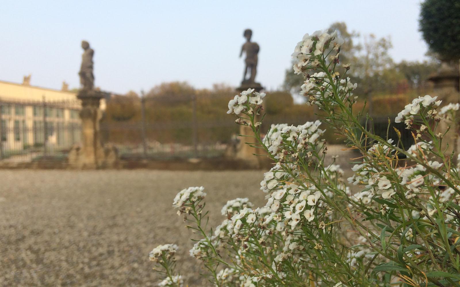 L'ingresso principale del giardino di Villa Arconati.