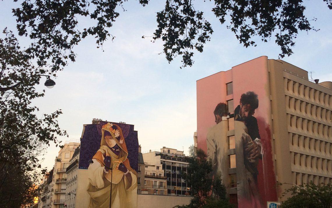 Street art a Parigi