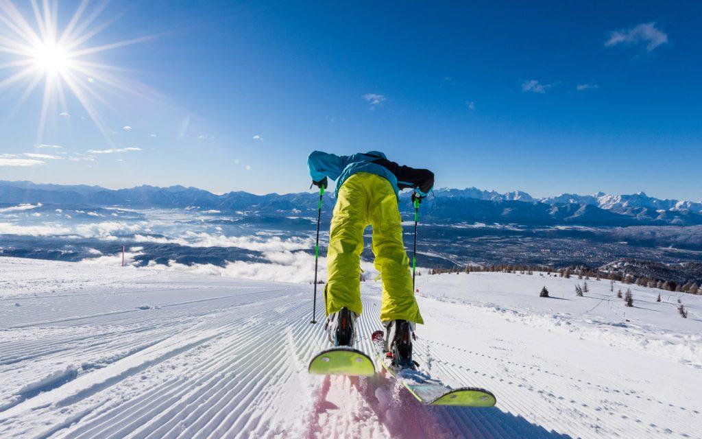 Una pista sull'Alpe Gerlitzenn.