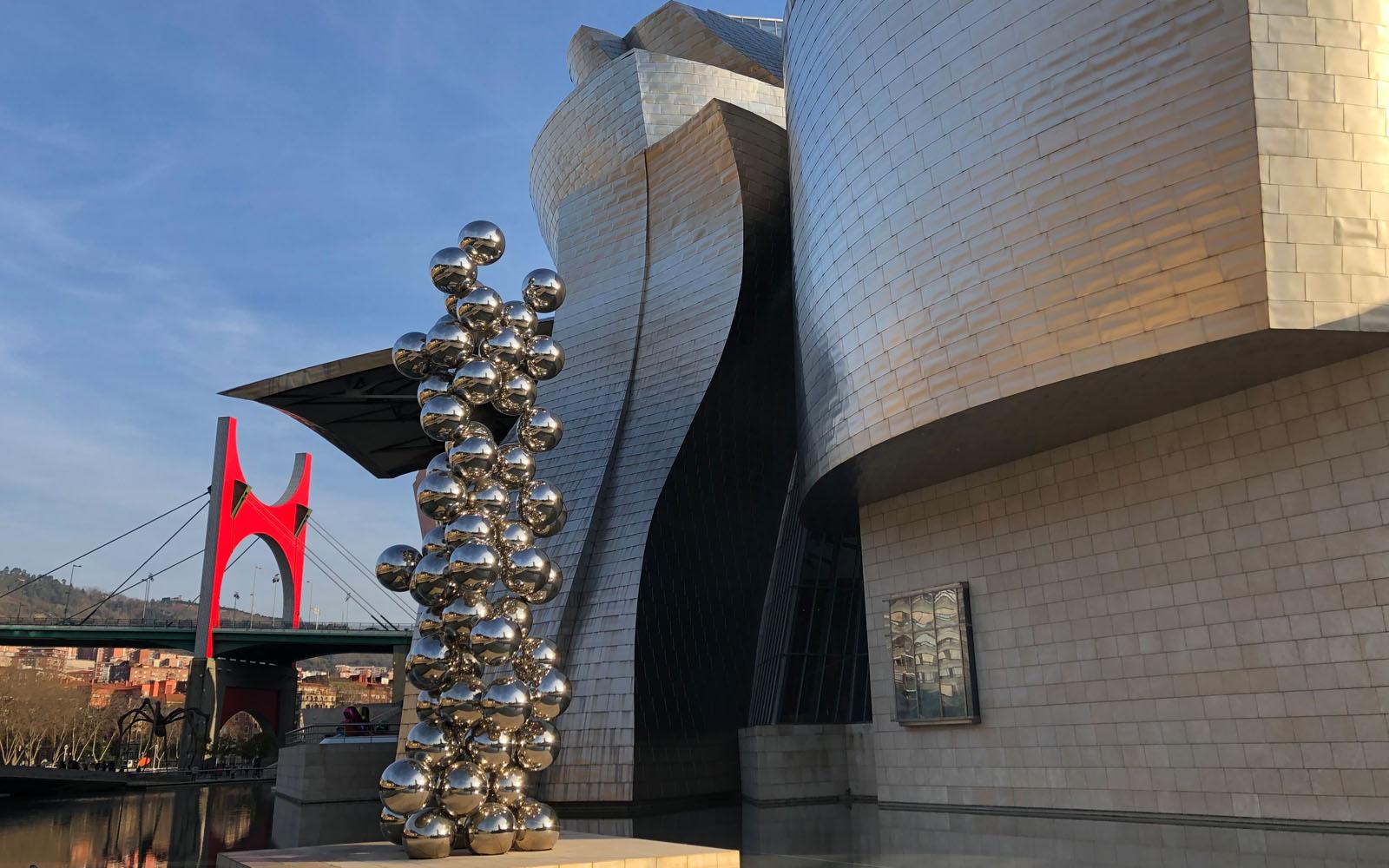 Il Guggenheim di Bilbao.
