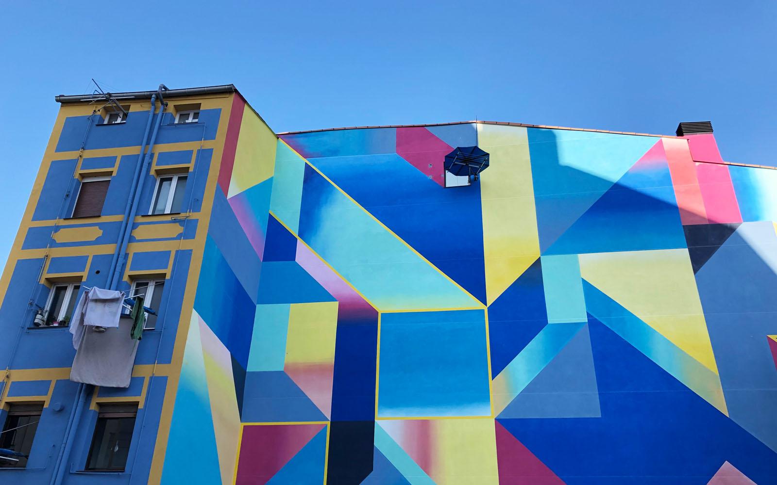 Street art a Bilbao.