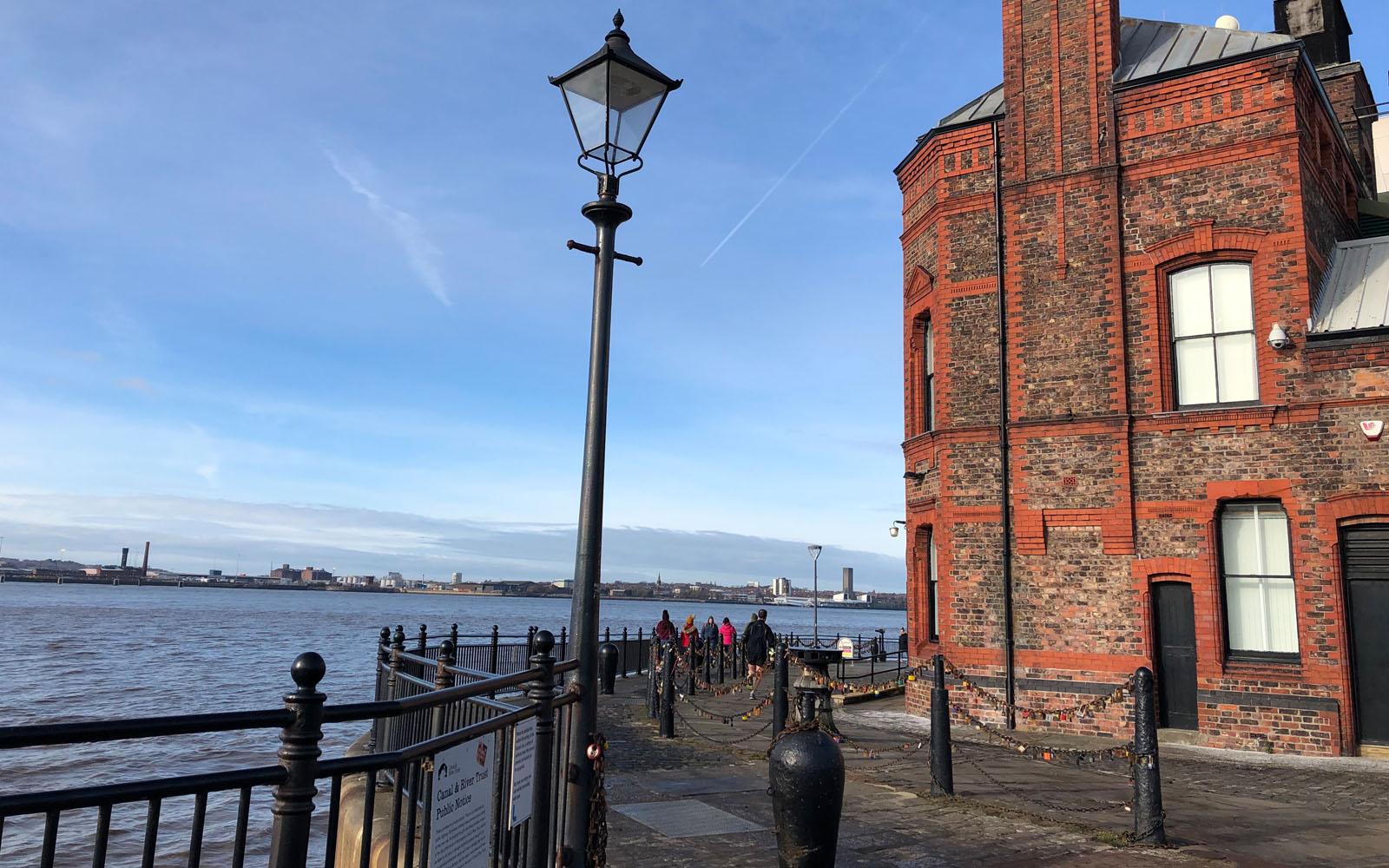 Una delle mie prospettive preferite dell'Albert Dock.