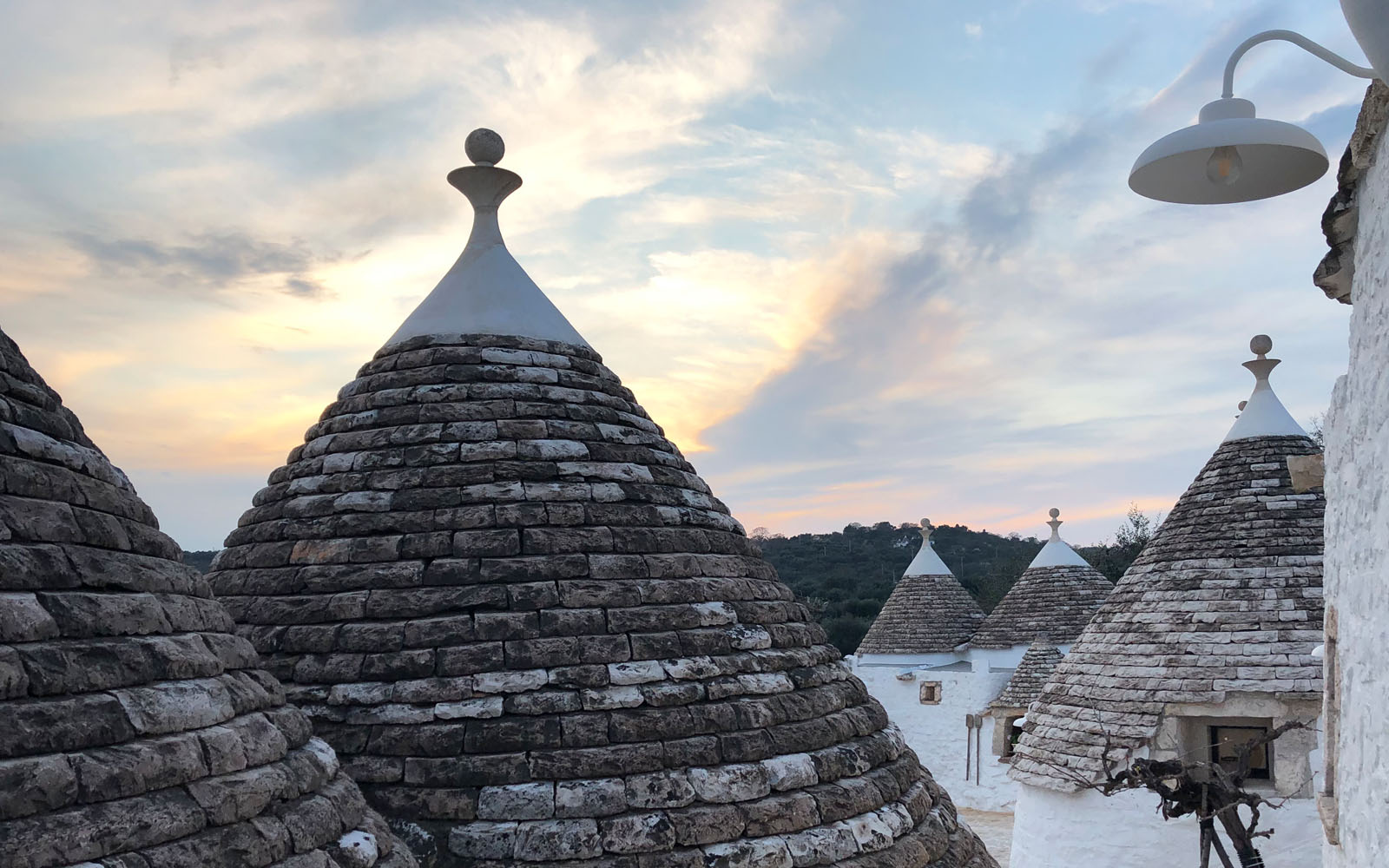 Trulli in Valle d'Itria.