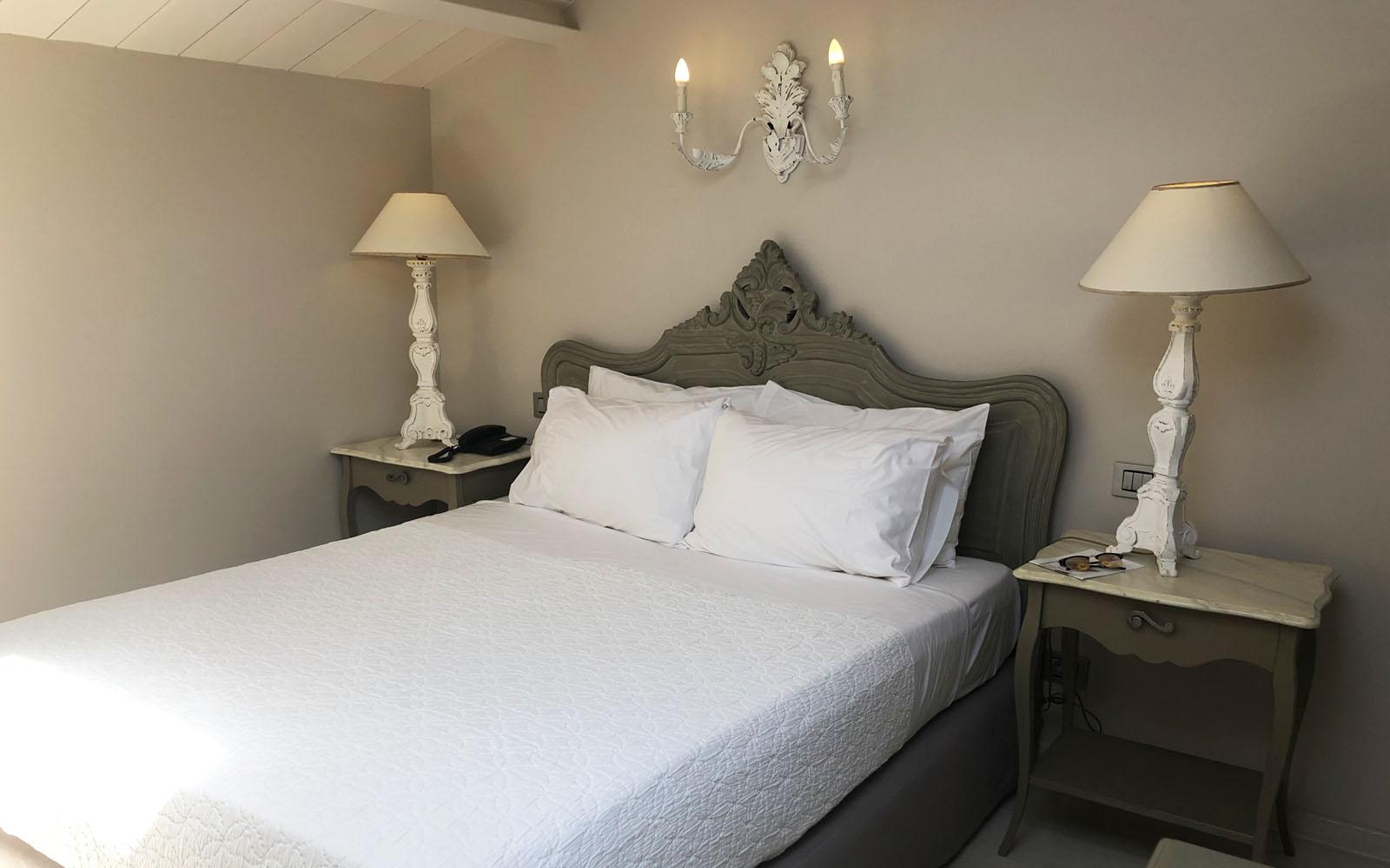 La mia camera nel boutique hotel Micra Anglia