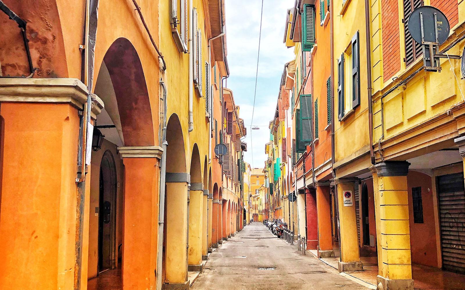 Uno scorcio di Bologna.