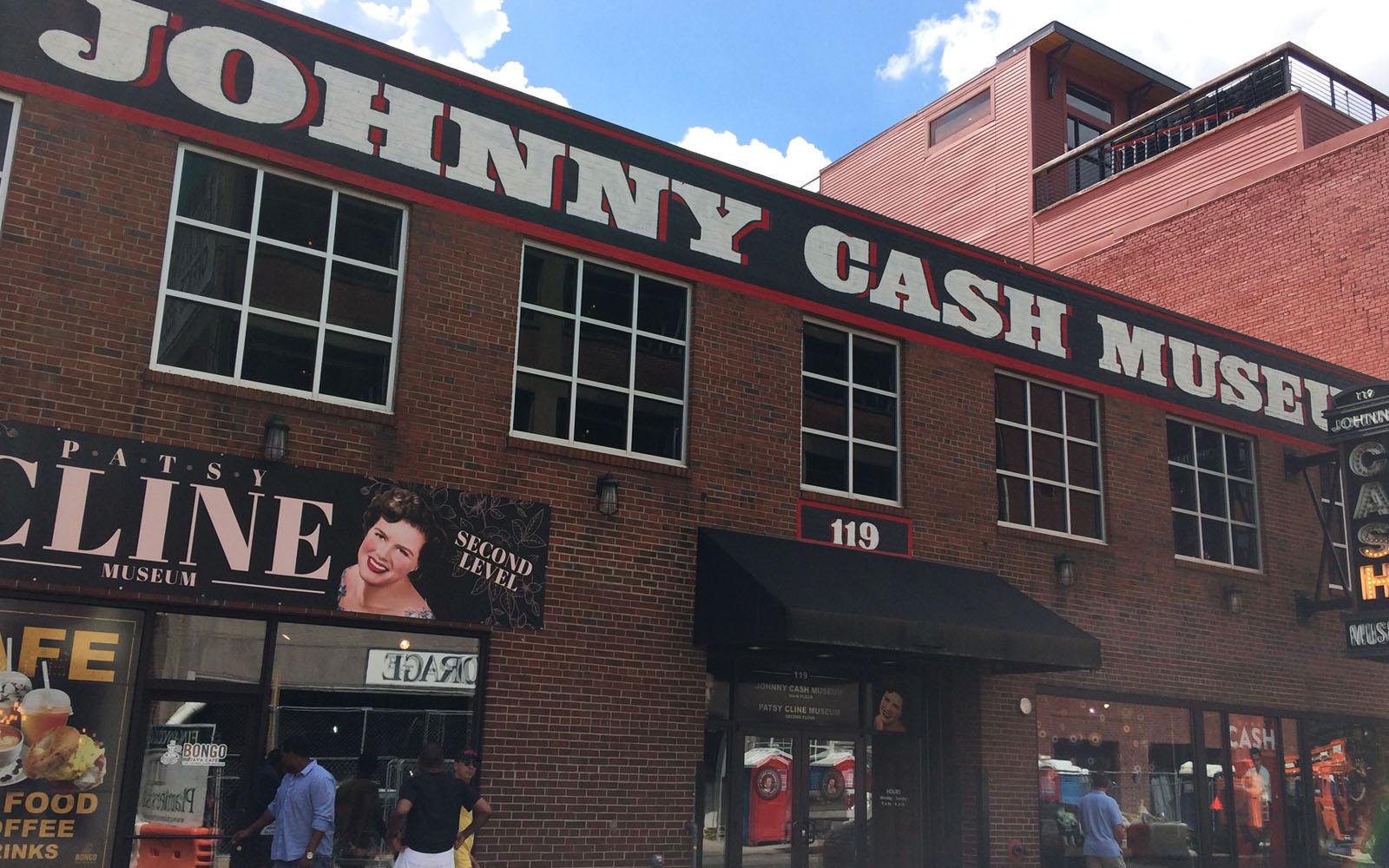 Il museo di Johnny Cash a Nashville.