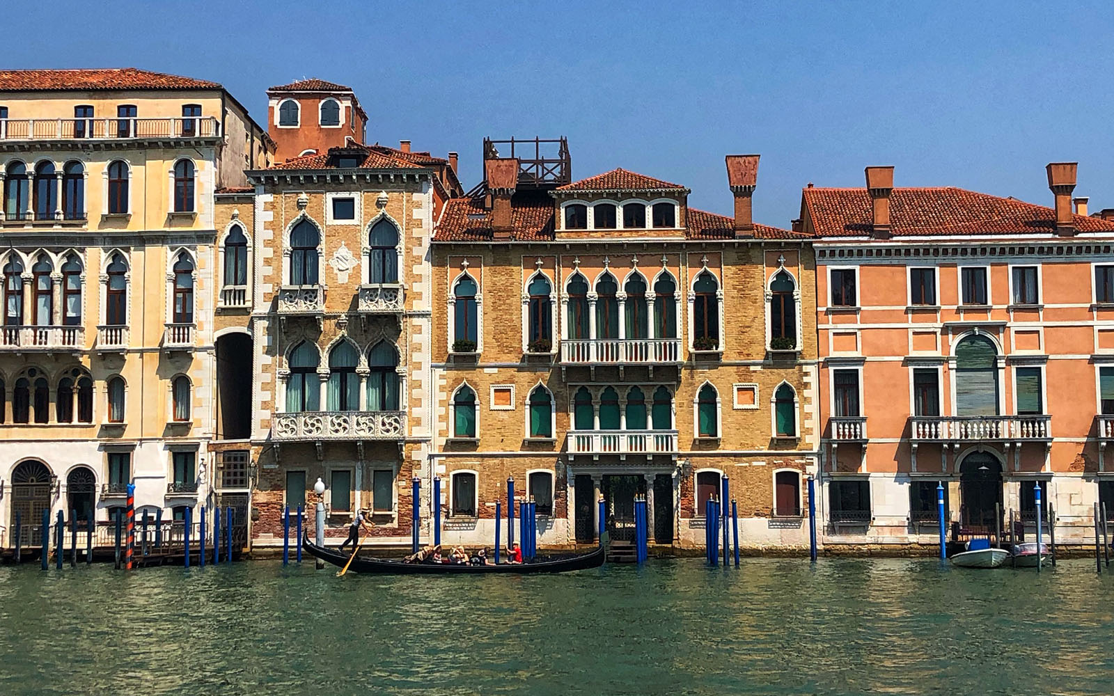L'affaccio sul Canal Grande di Venezia.