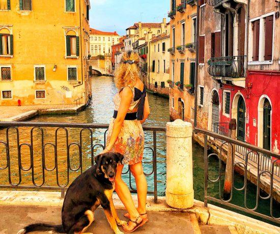 Venezia con cane © oltreilbalcone