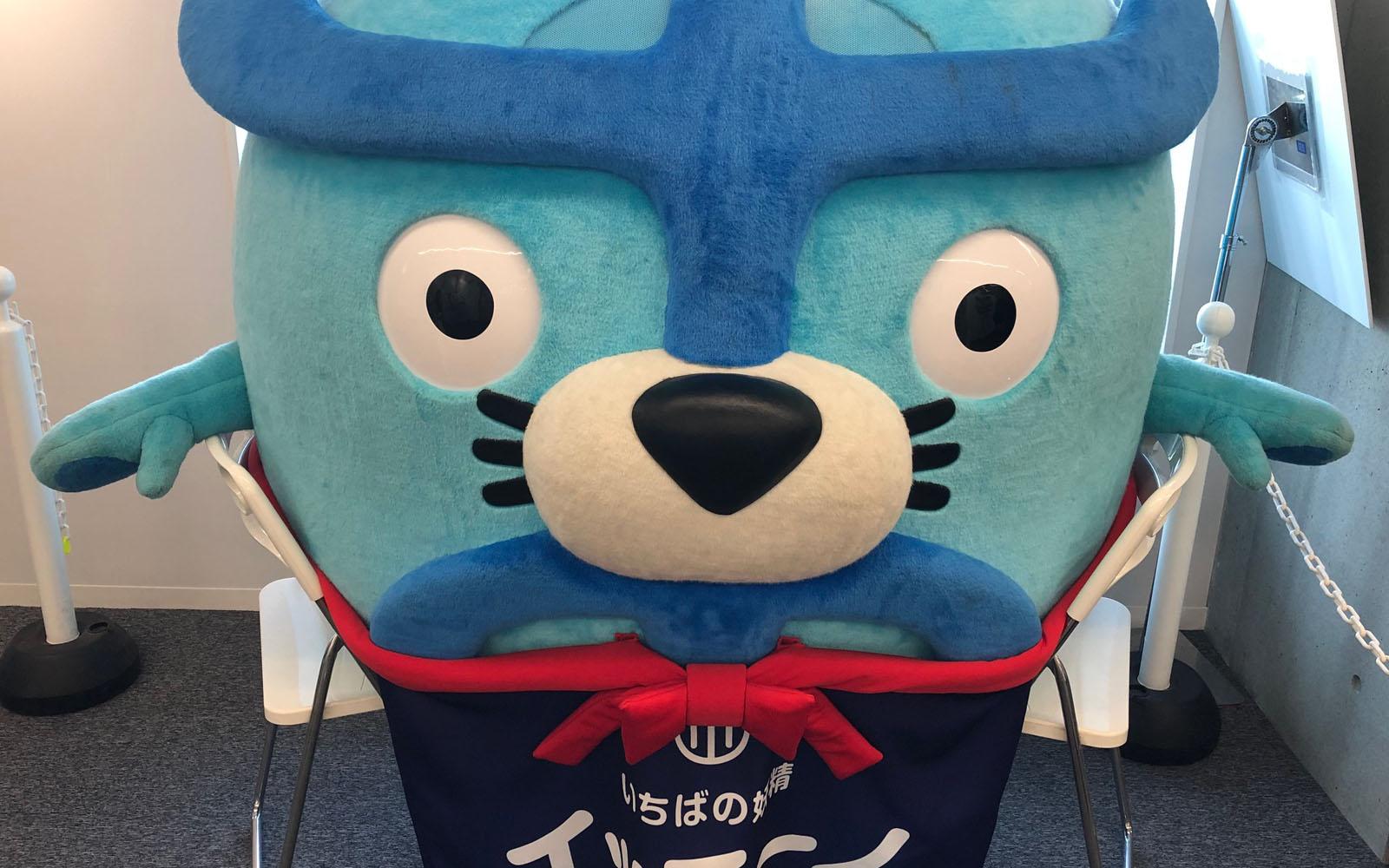 La mascotte del nuovo Mercato del Pesce.