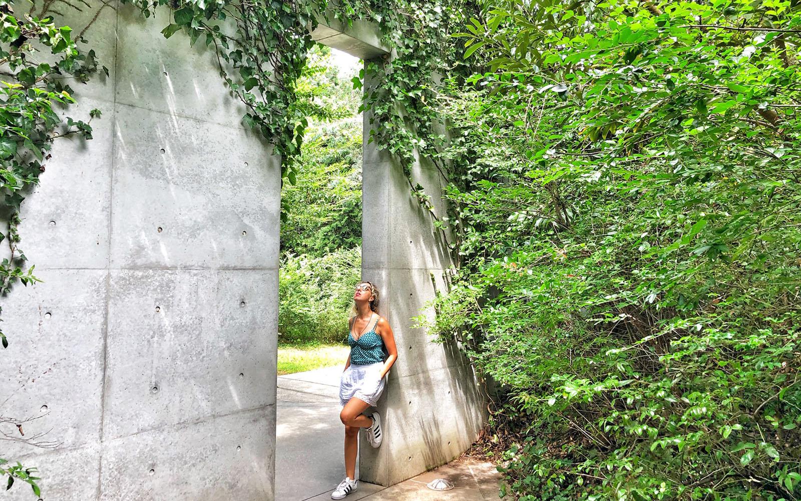 Al Chichu Art Museum, dove l'edificio in cemento dialoga armoniosamente con la Natura circostante.