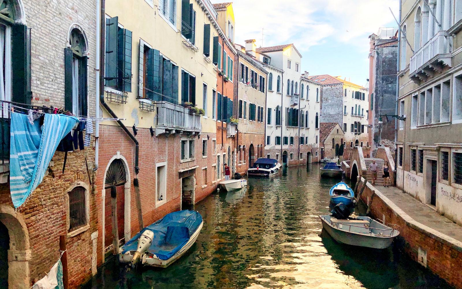 Uno scorcio di Venezia.