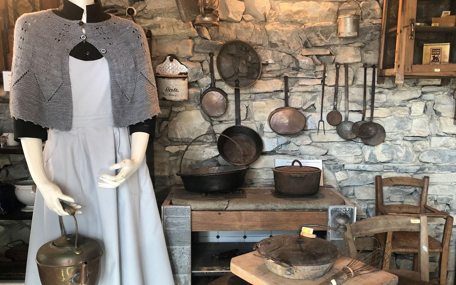 Il Museo Etnografico della Civiltà Contadina in Valle Intelvi. © oltreilbalcone