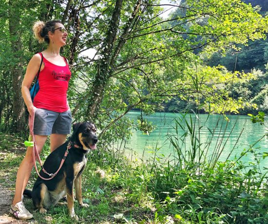 itinerario adda con cane
