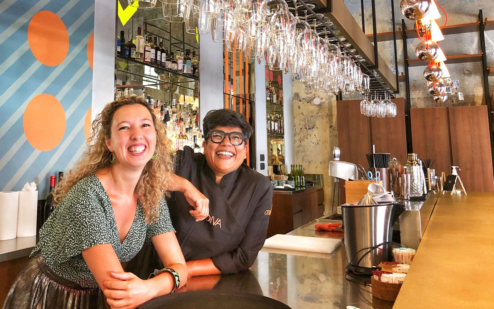 Brunch Milano chef Ritu Dalmia del ristorante Spica © oltreilbalcone