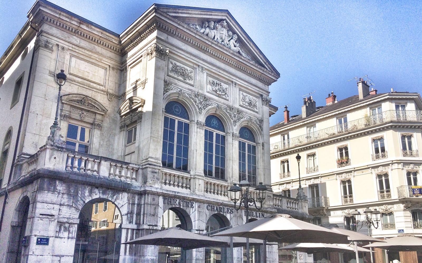 Il teatro Charles Dullin di Chambéry. © oltreilbalcone