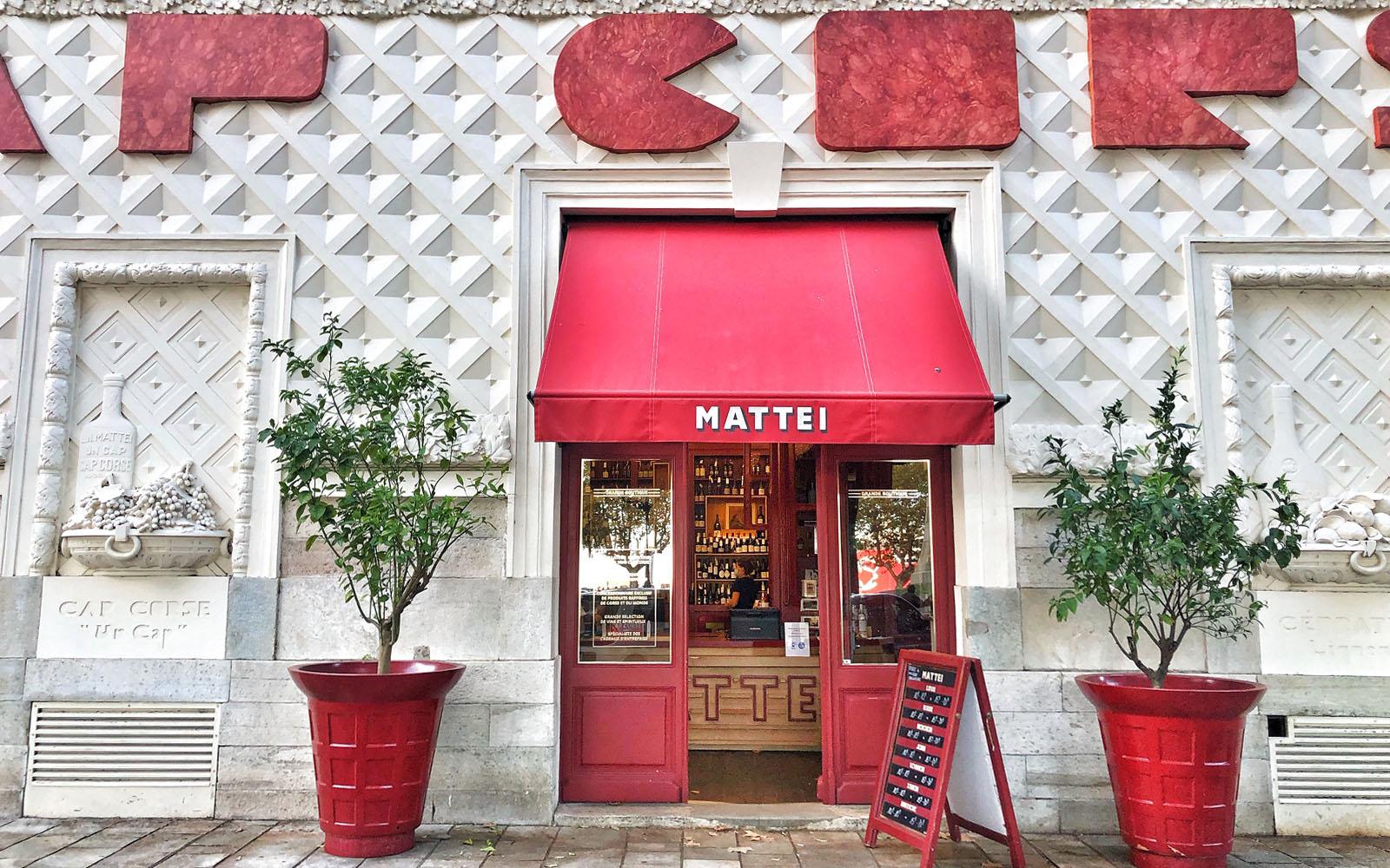 ll concept store Cap Corse Mattei a Bastia. © oltreilbalcone