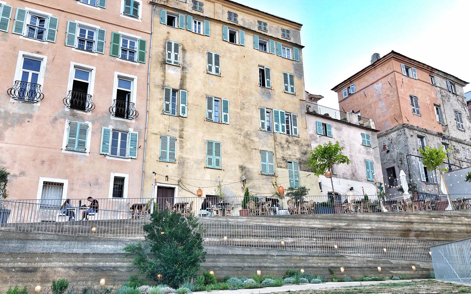 La Cittadella di Bastia, nella parte alta della città.