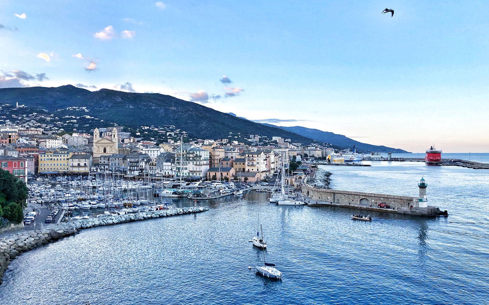 Uno scorcio di Bastia.