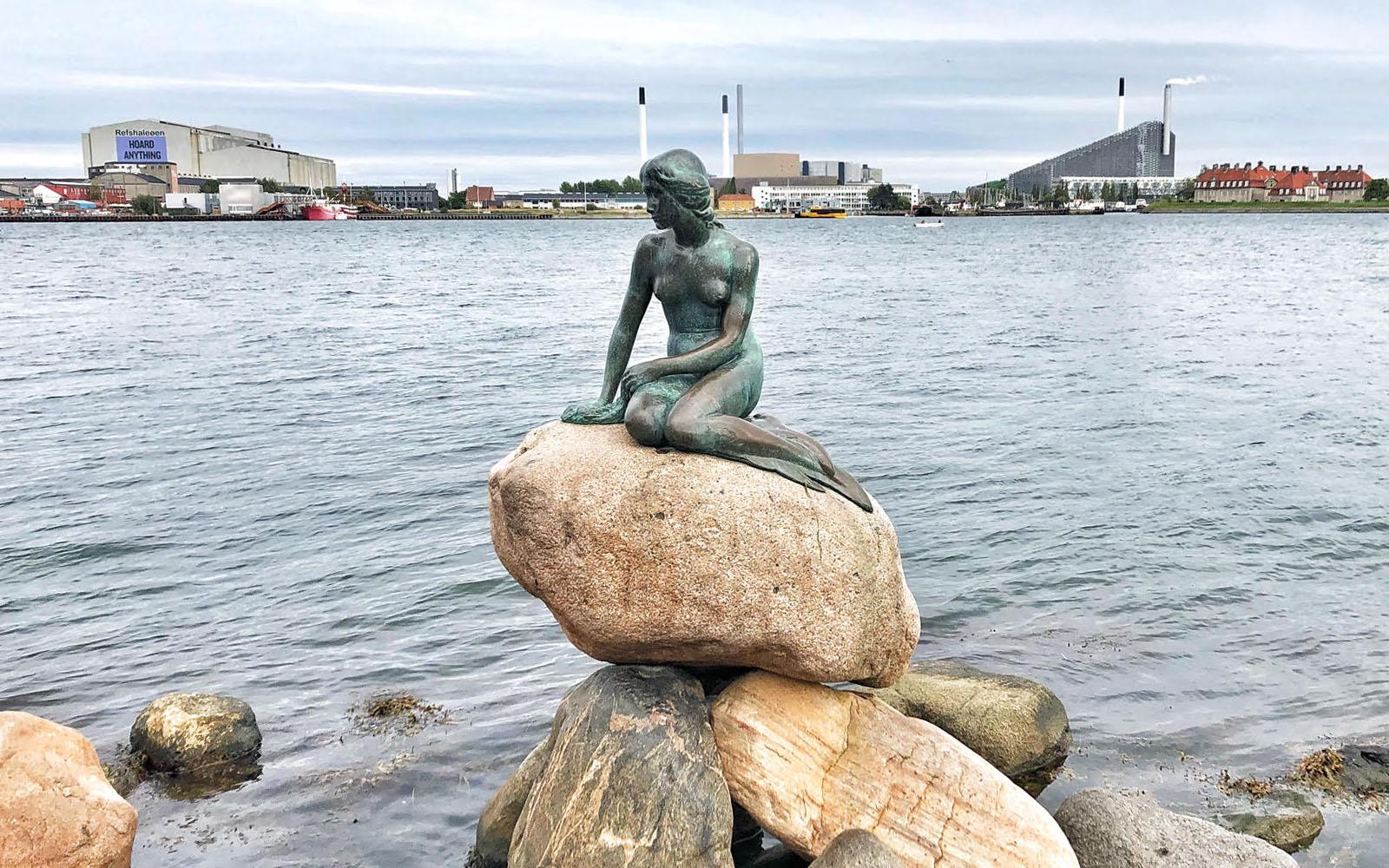 La Sirenetta di Copenaghen. © oltreilbalcone