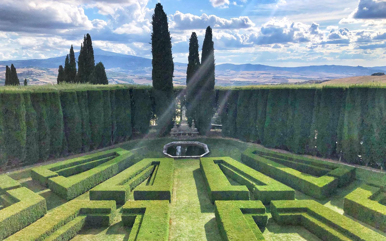 Il labirinto de la Foce, in Toscana. © oltreilbalcone